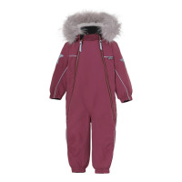 Комбинезон Molo Pyxis Fur Recycle Maroon